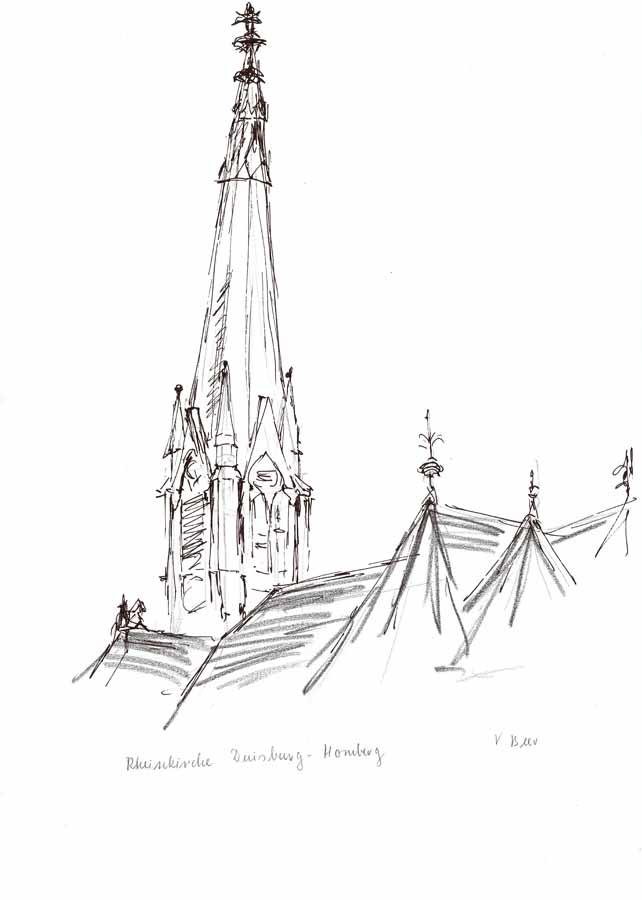 Rheinkirche Duisburg-Homberg
